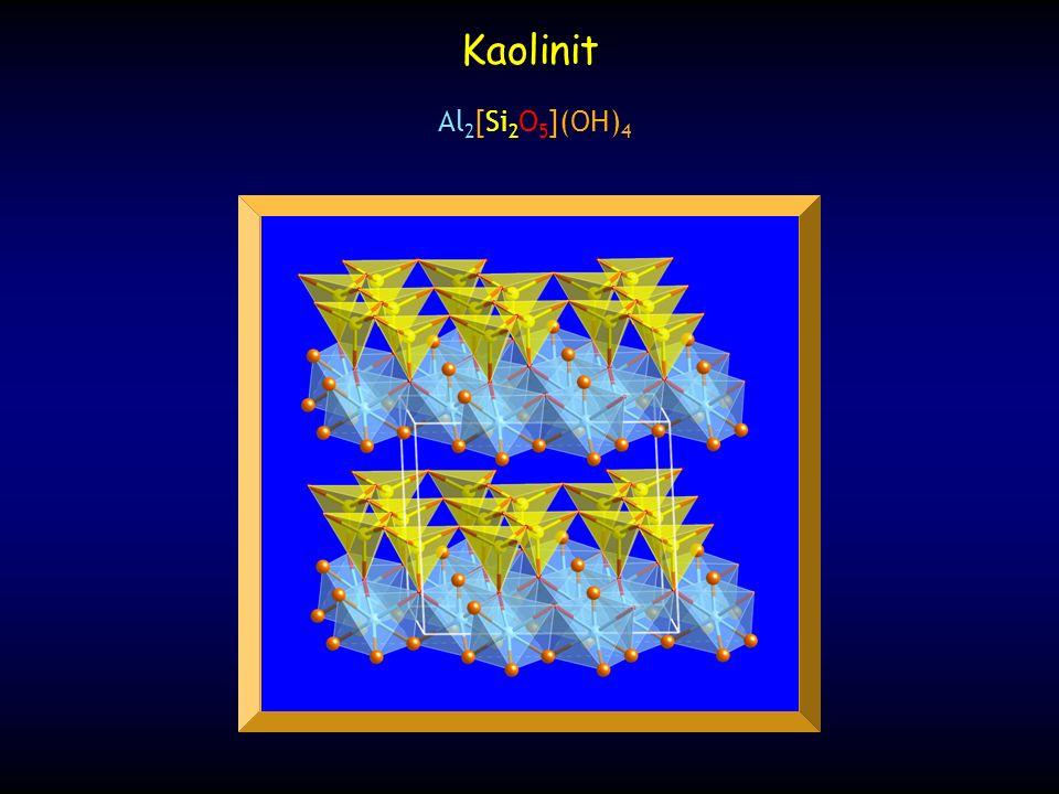 Kaolinit Al2[Si2O5](OH)4